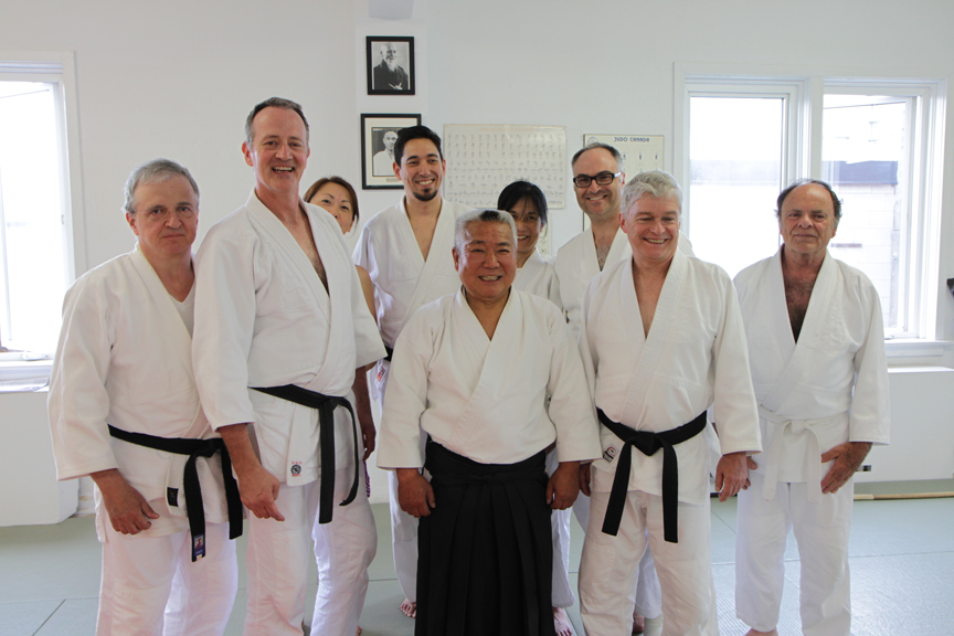 Kimeda Sensei and AYO members.