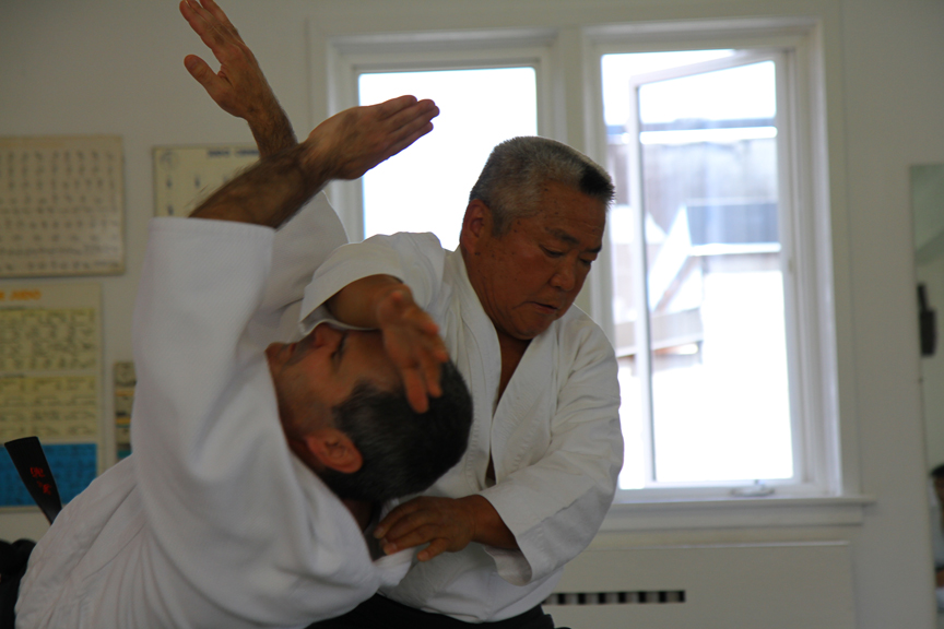 Kimeda Sensei and Chris Johnston.
